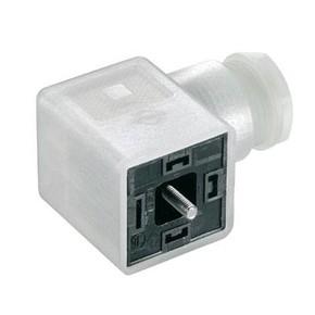 Клапанный штекер гнездо угловое SAIB/VSA/4P/230/11/H/OB