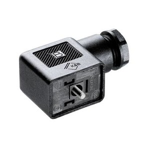 Клапанный штекер гнездо угловое SAIB/VSBD/3P/250/9/OB