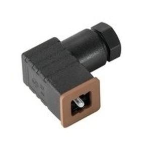 Клапанный штекер гнездо угловое SAIB/VSCD/3P/250/7/OB