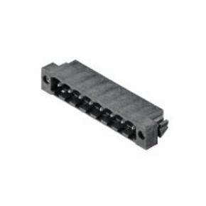Штырьковый соединитель (фланец под пайку) 5.08 mm SL/SMT/5.08HC/08/270FL/1.5SN/BK/RL