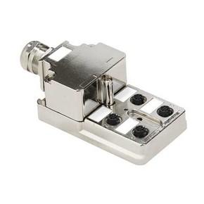 Концентратор M12 SAI (пассивный распределитель) SAI/4/MMS/5P/M12/1/1