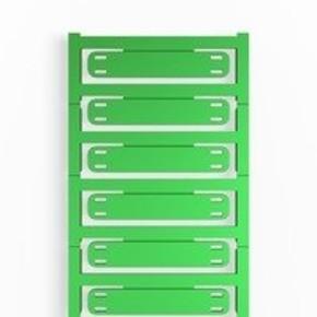 Маркировка кабеля SlimFix X 7-40мм (60x11мм, зеленый) SFX/11/60/MC/NE/GN