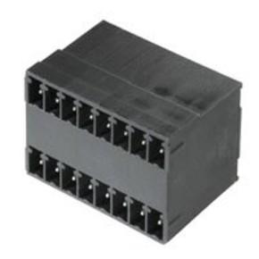 Штырьковый соединитель (бок закрыт) 3.81 mm SCD/THR/3.81/08/90G/1.5SN/BK/BX