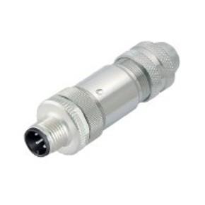 Штекер круглый вилка прямая FBCon/M12/4P/M/EMC