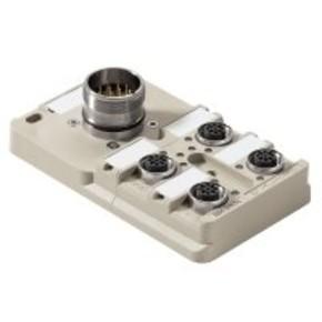 Концентратор M12 сигналов пассивный распределитель (с разъемом M23) SAI/4/S/4P/M12