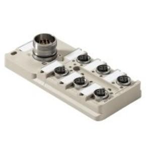 Концентратор M12 сигналов пассивный распределитель (с разъемом M23) SAI/6/S/4P/M12