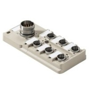 Концентратор M12 сигналов пассивный распределитель (с разъемом M23) SAI/6/S/5P/M12