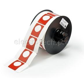 Маркировка под кнопку B30EP-167U-593-RD, красный материал B-593 EPREP, 30,48 * 38,10 мм, диаметр отверстия 22,5 мм, 235 шт. (BBP31/33/35/37)