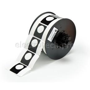 Маркировка под кнопку B30EP-167U-593-BK, чёрный материал B-593 EPREP, 30,48 * 38,10 мм, диаметр отверстия 22,5 мм, 235 шт. (BBP31/33/35/37)