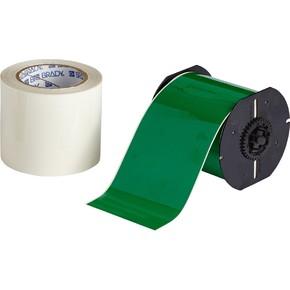 Комплект Brady для создания напольной маркировки: B-483, B-634, 101 мм * 30,40 м, зелёный (BBP35/37)