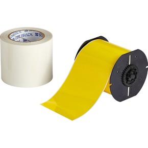 Комплект Brady для создания напольной маркировки: B-483, B-634, 101 мм * 30,40 м, жёлтый (BBP35/37)