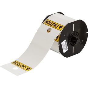 Белый полиэстер без адгезива B30C-255-551-WT, бирки 82,55 * 146,05 мм, 100 шт. (BBP31/33/35/37)