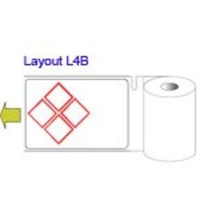Этикетки вырубные для bbp31/33/35/37 B30-218-423-HSIDL1