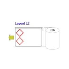 Этикетки вырубные для bbp31/33/35/37 B30-217-423-HSIDL1