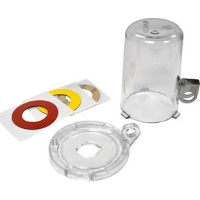Блокираторы кнопки малые Brady мблокиратор с основанием 16 мм,высота колпачка 70 мм,3 наклейки:, белая,желтая,красная,прозрачный,алый, Комплект