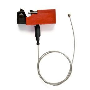 Блокираторы для выключателей EZ Panel Loc Snap-On Brady блокиратор,длина троса может использоваться совместно с дополнительным самоклеящимся держателем, 0.61 м