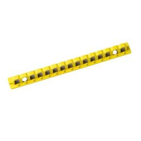 Держатель для блокиратора EZ Panel Loc Brady самоклеящийся,максимум для 15 замков, 20.36x203.2 мм