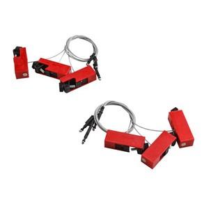 Блокираторы для выключателей EZ Panel Loc Clamp-On Brady блокиратор,длина троса может использоваться совместно с дополнительным самоклеящимся держателем,в упаковке, 0.61 м, 6 шт