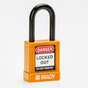 Замок компактный Brady brady,дужка:, зеленый,алюминиевый, 4.7 мм, 25 мм, 19x64x32 мм, 1, 6 шт