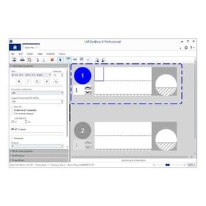 Программа для создания изображения на этикетках labelmark Brady обновление 6 standard до lm6, желтовато-коричневый