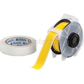 Лента для печати на принтере для globalmark Brady globalmark, ламинат в-634 для покрытия сверху, желтая,прозрачная, 28.6x30000 мм, b-483
