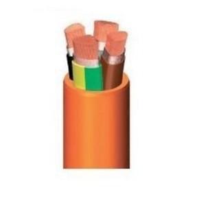Силовой огнеупорный кабель UNIFIRE SZ1-K 0,6/1 кВ, гибкий медный проводник 4 × 2,5 Cu5, 100 м