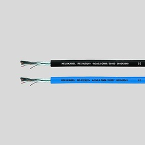 Кабель передачи данных Helukabel re-2y(st)yv (20254)
