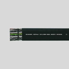 Плоский кабель Helukabel NEO-FLACH 7 × 4 мм²