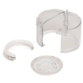 Съемный блокиратор кнопок. Круглый.Внешний диаметр 60 мм. В комплекте с установочными кольцами и клеящимся основанием.