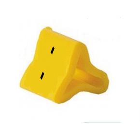 Маркер на провод 0,2-0,75 мм PY 01/3, жёлтый::К
