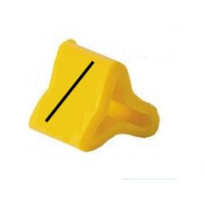 Маркер на провод 0,2-0,75 мм PY 01/3, жёлтый:/П