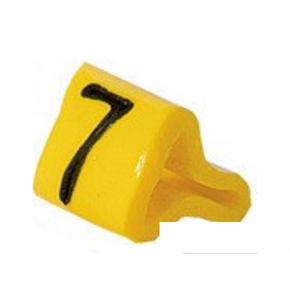 Маркер на провод 0,2-0,75 мм PY 01/3, жёлтый:7 К