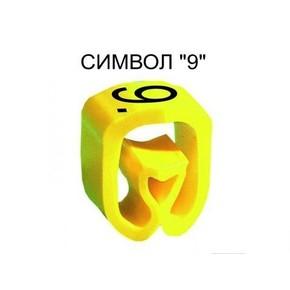 Маркер на провод 0,2-1,5 мм PA 02/3, жёлтый:9 К