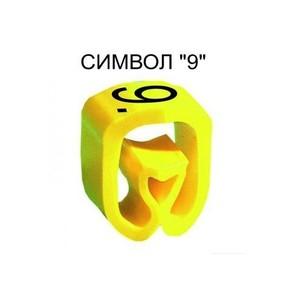 Маркер на провод 1,5-4,0 мм PA 1/3, жёлтый:9 К