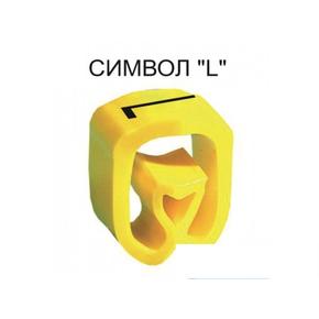 Маркер на провод 2,5-16,0 мм PA 2/4, жёлтый:L Д