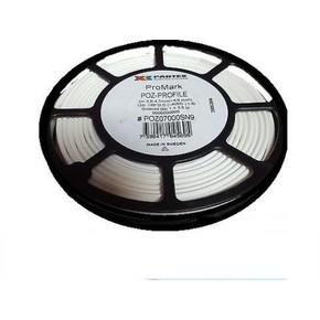 Овальный самогасящийся безгалогеновый профиль POZ для печати кембриков на провода диаметром 24-28 мм