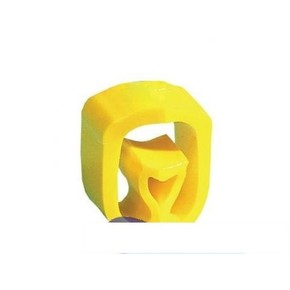 Маркер Partex PA2 символ «чистый» для диаметра 4,0-10 мм, жёлтый, диск 250 шт.