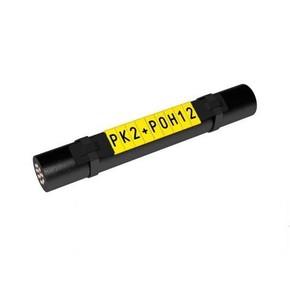 Маркер Partex PK2 символ «1» для держателей PKH, POH жёлтый/чёрный, 500 шт./упак