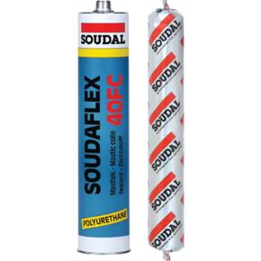 Герметик полиуретановый Соудафлекс Soudal 40 ФС белый 12x310мл (103845)