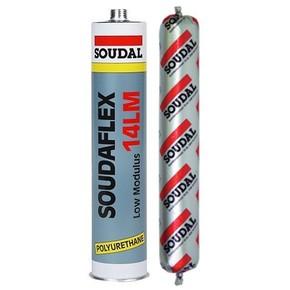 Герметик полиуретановый Соудафлекс Soudal 14 ЛМ серый 12x310мл (103255)
