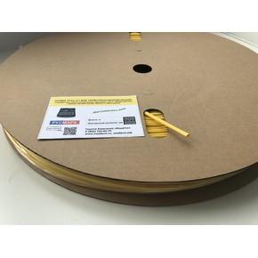 ТрубкаТУТНГ «Русмарк»,премиум,6,0-3,0мм,2:1, жёлтая,100м