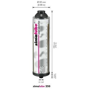 Лубрикатор с цепным высокотемпературным маслом Simalube sl 15 (sml210.1515)