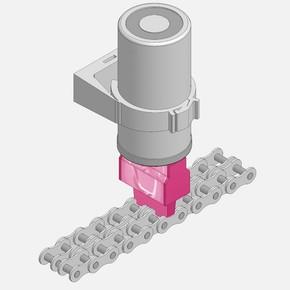 Щетка прямоугольная для пищевой промышленности Simalube 40 мм (sml290.2035-FN)