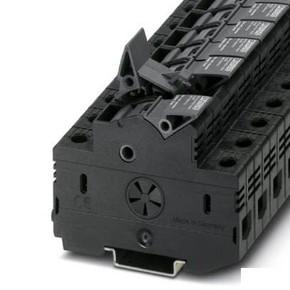 Клеммы для установки предохранителей UK 10,3-CC HESILED N 600 3POL