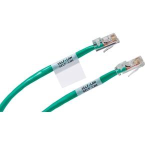 Маркеры кабельные самоламинирующиеся Brady m21-750-427, белом,черные, 4 мм, 19.05x4300 мм, Винил