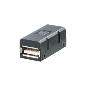 Розеточная вставка IE/BI/USB/A