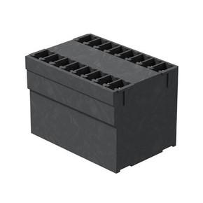 Штырьковый соединитель (бок закрыт) 3.81 mm SCD/THR/3.81/26/180G/3.2SN/BK/BX