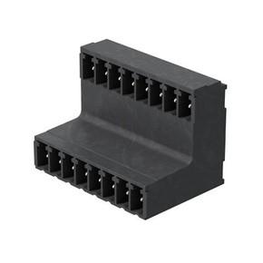 Штырьковый соединитель (бок закрыт) 3.81 mm SCDV/THR/3.81/10/90G/3.2SN/BK/BX