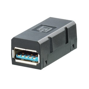 Розеточная вставка IE/BI/USB/3.0/A