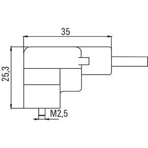Клапанный штекер с встроенным уплотнением SAIL/VSCD/20U(0.5)
